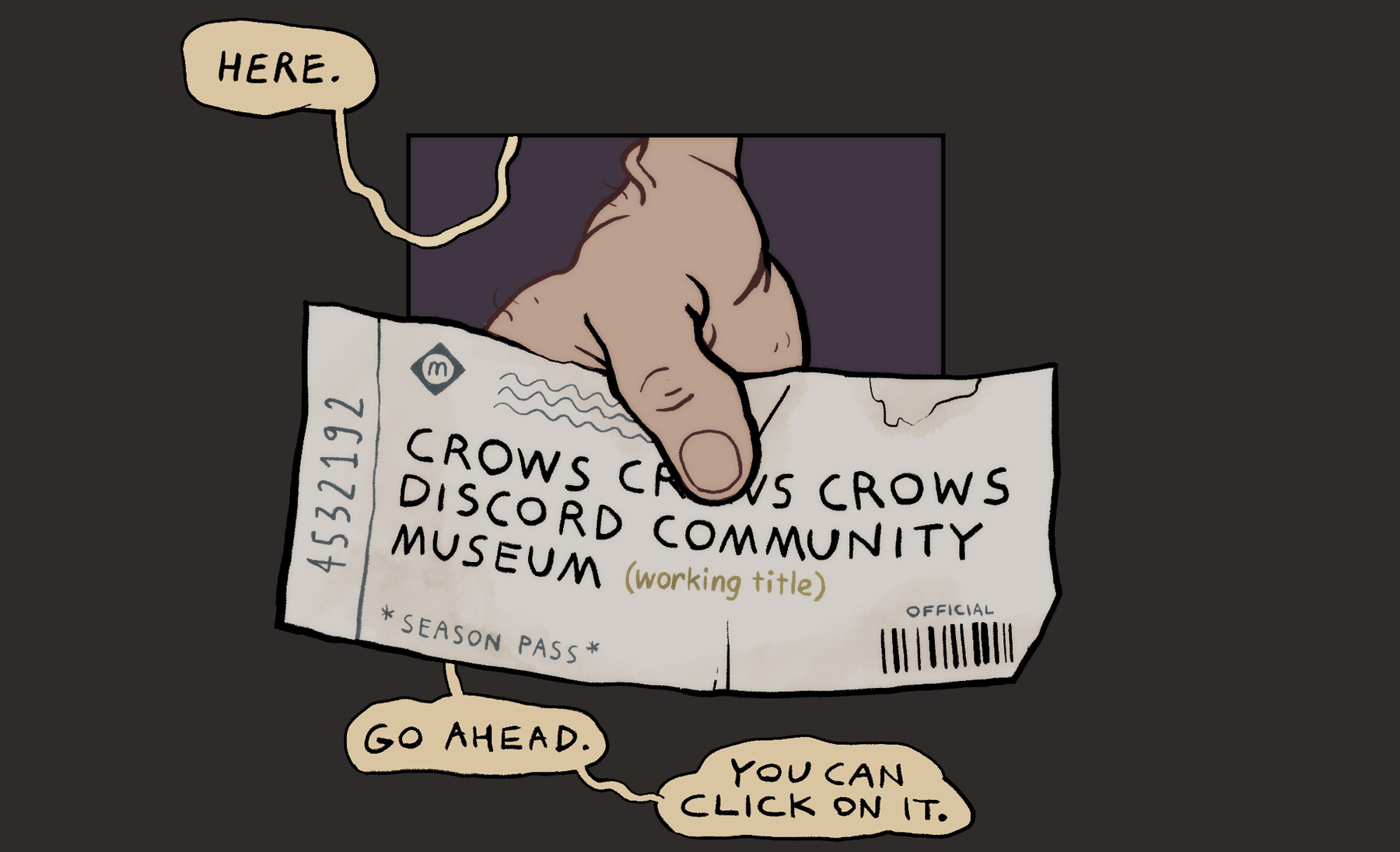 Ticket to the Community Museum