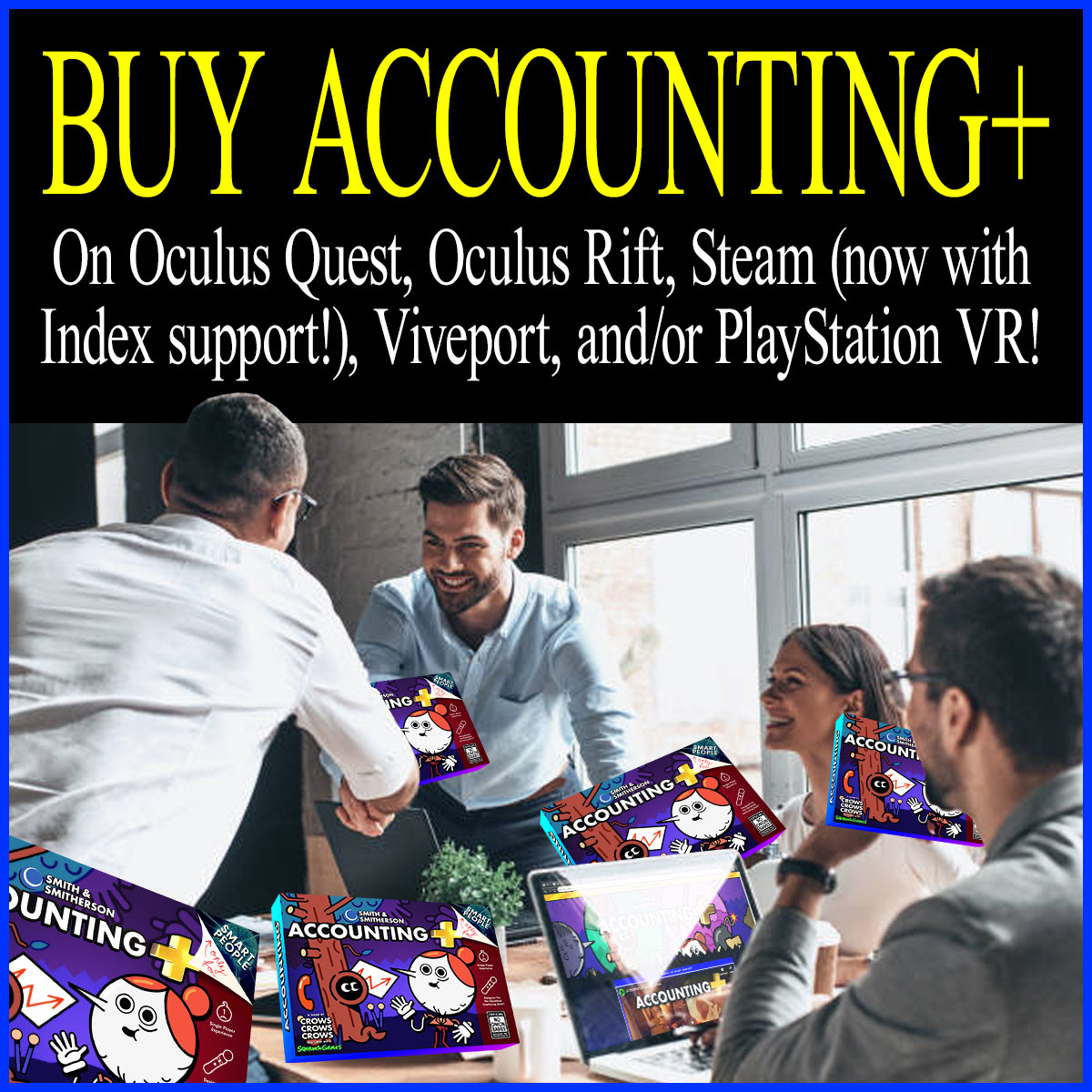 Accounting+ for Virtual Reality