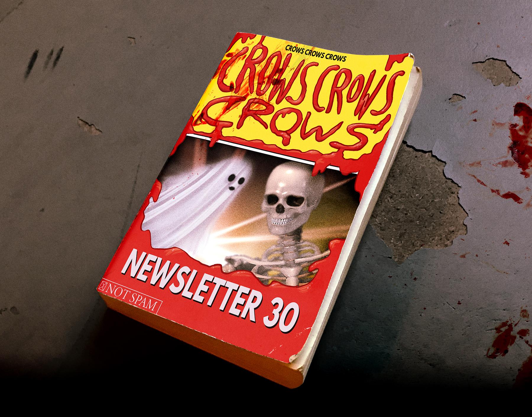 SPOOKY HEADER IMAGE! NEWSLETTER 30!!
